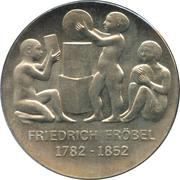 5 Mark (Friedrich Froebel) – reverse