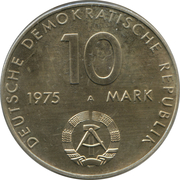 10 Mark (The Warsaw Pact) – obverse