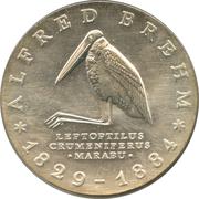 10 Mark (Alfred Brehm) – reverse