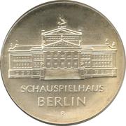 10 Mark (Schauspielhaus Berlin) – reverse