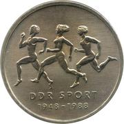 10 Mark (East German Sports) – reverse