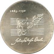 20 Mark (Johann Sebastian Bach) – reverse