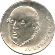 20 Mark (Johann Gottfried Herder) – reverse