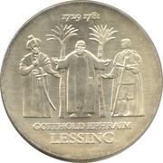 20 Mark (Gotthold Ephraim Lessing) – reverse