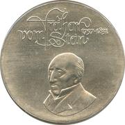 20 Mark (Carl Freiherr vom Stein) – reverse