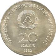 20 Mark (Clara Zetkin) – obverse