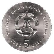 5 Mark (Ernst Barlach) – obverse