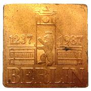 Token - Berlin 1237-1987 – obverse