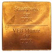 Token - Berlin 1237-1987 – reverse
