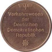 Token - Verkehrswesen der DDR – reverse