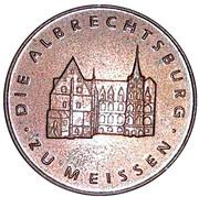 Token - Die Albrechtsburg  Zu Meissen – reverse