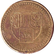 Token - VEB Starkstrom-Anlagenbau Leipzig-Halle (Order of Karl Marx) – reverse
