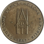 Token - Der Dom Zu Magdeburg – reverse