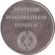 Token - Nationale Mahn - und Gedenkstatte Buchenwald – reverse