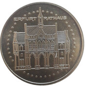 Medal - Erfurt Rathaus – obverse