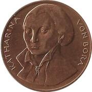 Token - 450 years of Reformation (Katharina von Bora) – reverse