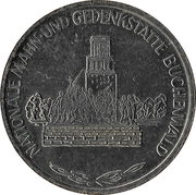 Token - Nationale Mahn-und Gedenkstatte Buchenwald (Ernst Thälmann) – obverse