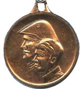 Medal - Bekenntnis und Tat zum Schutz des Sozialismus – obverse