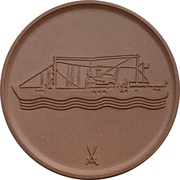 Medal - Maritime museum Stralsund – reverse