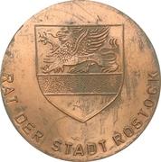 Medal - Rat der Stadt Rostock – obverse