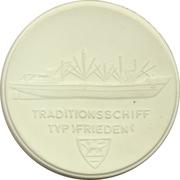 Medal - Schiffbaumuseum Rostock – reverse