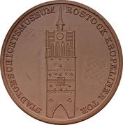 Medal - Kulturhistorisches Museum Rostock – reverse