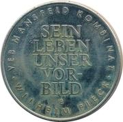 Wilhelm Pieck – reverse