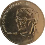Medal - Max Christiansen-Clausen – obverse