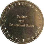 Medal - Max Christiansen-Clausen – reverse