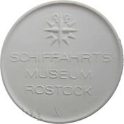 Medal - Schiffahrtsmuseum Rostock – obverse