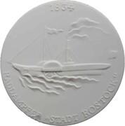 Medal - Schiffahrtsmuseum Rostock – reverse
