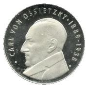 5 Mark (Carl von Ossietzky) – reverse