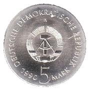 5 Mark (Kurt Tucholsky) – obverse