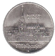 5 Mark (Marienkirche) – reverse