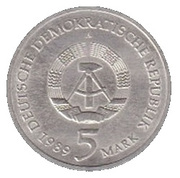 5 Mark (Marienkirche) – obverse