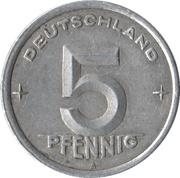 5 Pfennig -  reverse
