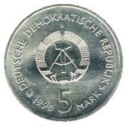 5 Mark (Zeughaus Museum) – obverse