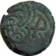 1 Jital - Shams al Din Iltutmish (Budaun mint) – reverse