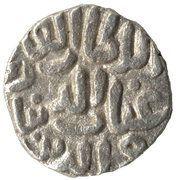 1 Jital - Ghiyath al din Tughluq I – reverse