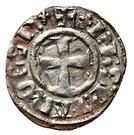 Denier - Philip of Taranto – obverse