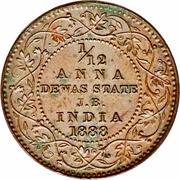 1/12 Anna - Victoria [Narayan Rao] – reverse