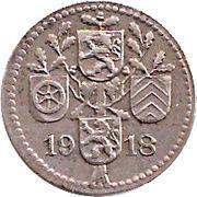 5 Pfennig - Dieburg – reverse