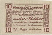 10 Heller (Diersbach) -  reverse
