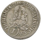 1 Kreuzer - Sigismund Lugwig – obverse