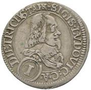 1 Kreuzer - Sigismund Lugwig -  obverse