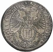 1 Thaler - Sigismund Ludwig – reverse