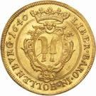 1 Ducat - Sigismund Ludwig – reverse