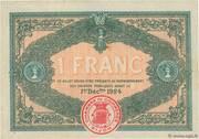 1 franc - Chambre de Commerce de Dijon (4e série) – reverse