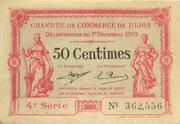 50 centimes - Chambre de Commerce de Dijon – obverse