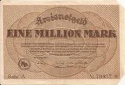 1,000,000 Mark – obverse